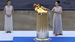 London Olympic Stadium Lights Bbc News London 2012 Olympic Flame Handover Ceremony