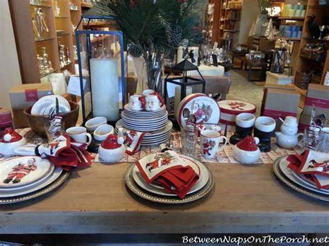 Thanksgiving & Christmas Tablescapes With Pottery Barn