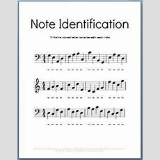 Music Theory Worksheets On Pinterest