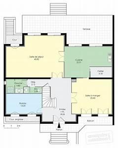 Plan Interieur Maison : maison familiale 6 d tail du plan de maison familiale 6 ~ Melissatoandfro.com Idées de Décoration
