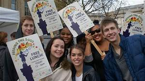 Londoners gather to fight food waste