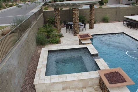 spa pool landscaping chandler pools and spa maintenance new image pool builders mesa az