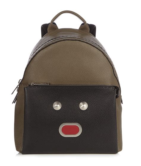 Fendi Faces Backpack as Seen on Kylie Jenner Fall/Winter ...