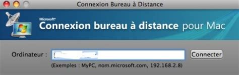 autoriser connexion bureau distance utiliser windows sur mac sans l 39 installer