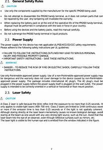 Point Mobile Pm260 Handy Terminal User Manual
