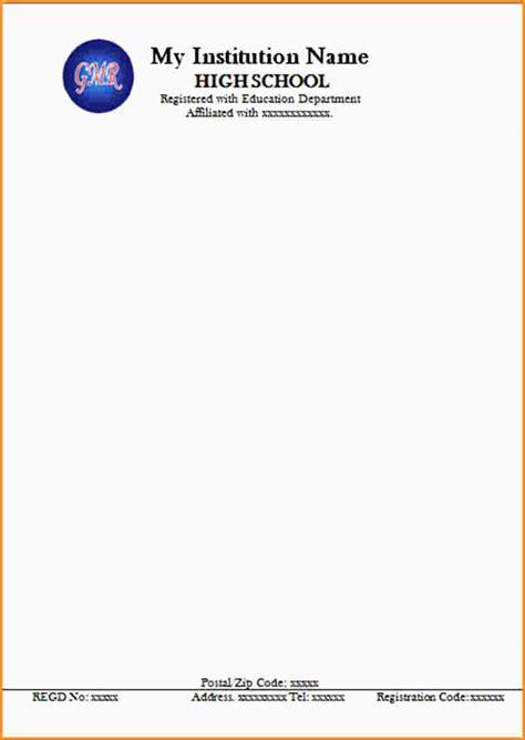9 letterhead sles mac resume template