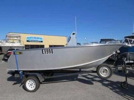 Boats For Sale In Perth Area by Global Marine Plate Alloy Beamy Centre Console Four