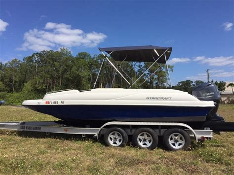 Starcraft Deck Boats For Sale Florida by Starcraft Str Deck Boat Boat For Sale From Usa