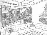 Kalamazoo sketch template