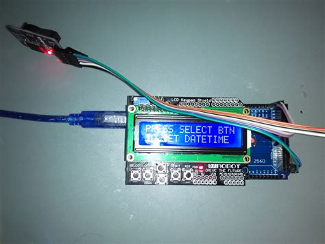 Lcd With Real Time Clock Module Hackster