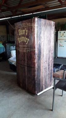 custom  refridgerator wraps