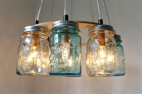 jar chandelier house jar lighting fixture