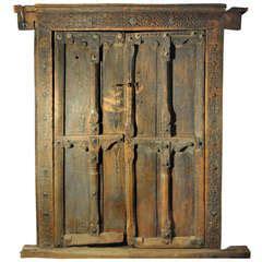 vintage steel elevator door  sale  stdibs