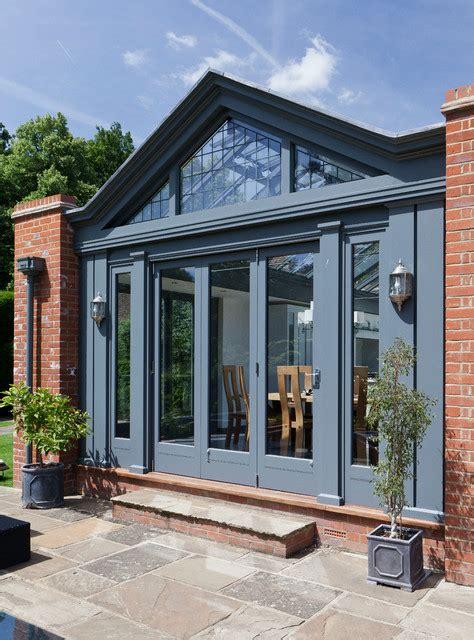 large kitchen conservatory contemporary conservatory