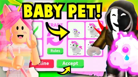 Months ago there is not any active and valid codes for roblox adopt me. I SCAMMED the BIGGEST SCAMMER with BABY PETS in Adopt Me ...