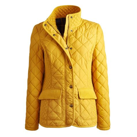 womens quilted jackets joules moredale quilted jacket gold joules