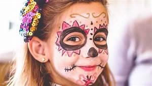 Maquillage Squelette Facile : maquillages enfant halloween l 39 express styles ~ Dode.kayakingforconservation.com Idées de Décoration