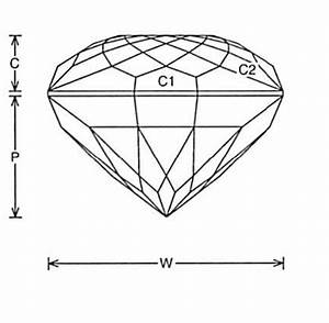 Faceting Design Diagram  Gorgeous Glitter