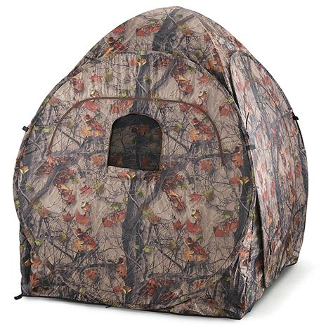 pop up blind team whitetail deluxe pop up blind 581793 ground