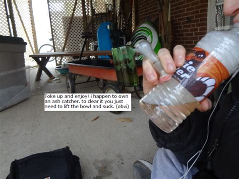 Easy Homemade Bong If You Own A Glass Bowl. (tutorial