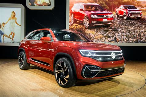 Volkswagen 2020 Concept by 2020 Vw Atlas Cross Sport Concept Shows In Hybrid