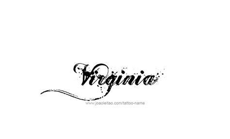 virginia  tattoo designs