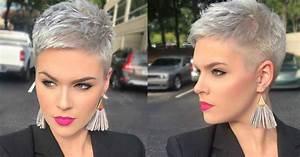 Coupe Courte Tendance 2019 : 35 coiffures courtes belles 2019 ~ Dallasstarsshop.com Idées de Décoration