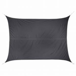 Voile D Ombrage Rectangulaire : voile d 39 ombrage rectangulaire curacao gris hesp ride 3 x 4 m ~ Dailycaller-alerts.com Idées de Décoration