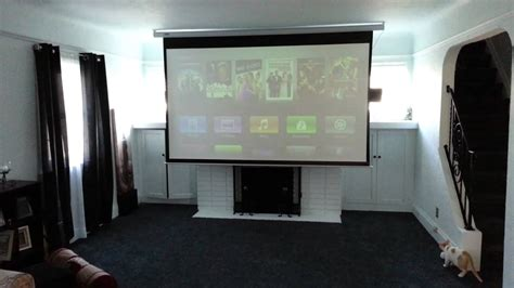 """Epson 3010 Projector and Favi 120"""" Electric Screen YouTube"""