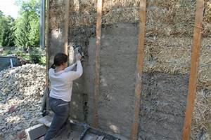 Dosage Enduit Ciment : gobetis ca nous botte de construire une maison en paille ~ Premium-room.com Idées de Décoration