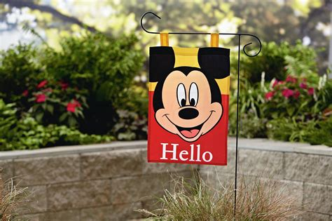 Disney Garden Decor Walgreens by Disney Mickey Mouse Garden Flag Outdoor Living Outdoor
