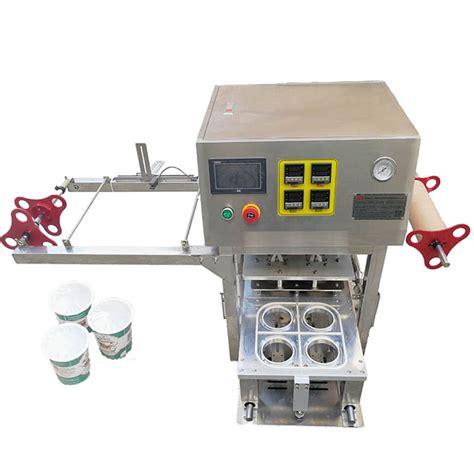 custom automatic paper cup plastic film top heat sealing machineautomatic paper cup plastic