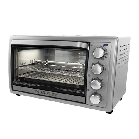 toaster oven convection countertop rotisserie stove cookware cooker pizza decker ovens silver