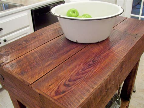 rustic kitchen island table vintage home how to build a rustic kitchen table island