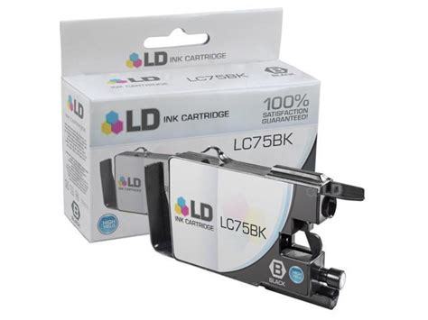 The best solution to update, backup, clean and monitor the drivers & devices of your pc. LD © Brother Compatible LC75BK High Yield Black Ink ...