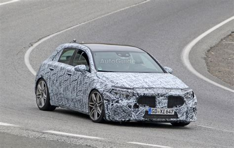 2019 Mercedes-AMG A45 With 400 HP 2.0L Spied Testing