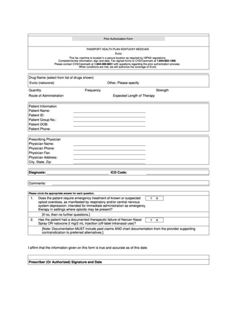 central health prior authorization form prior authorization criteria form passport health plan