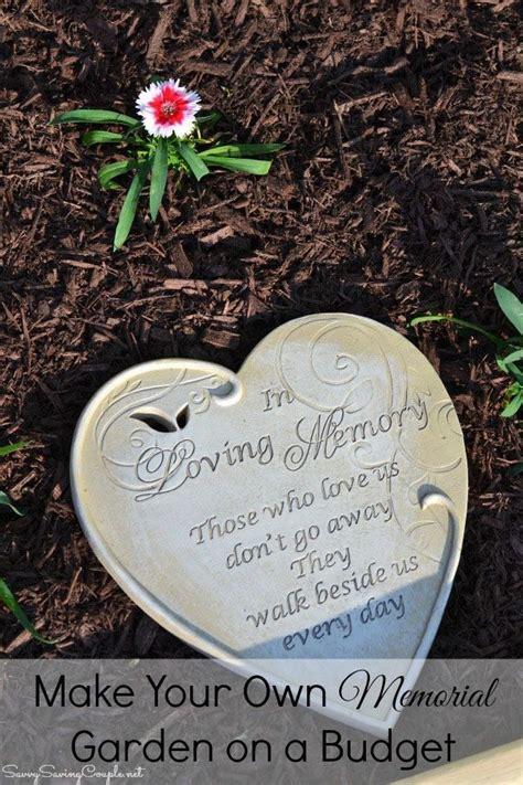 memorial garden   budget