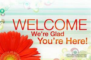 Welcome Church Video Loops | Church Service Motion Video Loops