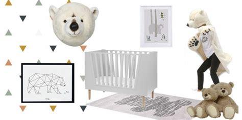 chambre enfant ours décoration ours et banquise pour