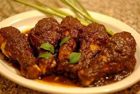ayam masak bali resepi mudah  ringkas