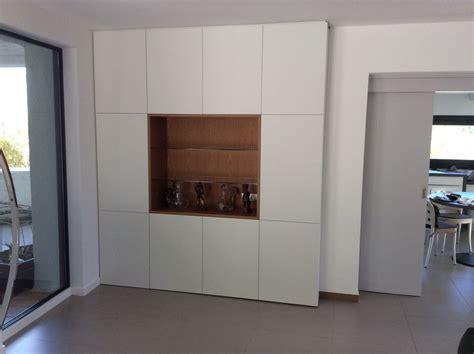 meuble suspendu cuisine meubles de salon contemporains sur mesure bois concept