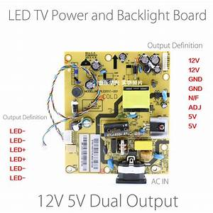 10 24 Inch Led Tv Power Supply Board And Backlight Driver