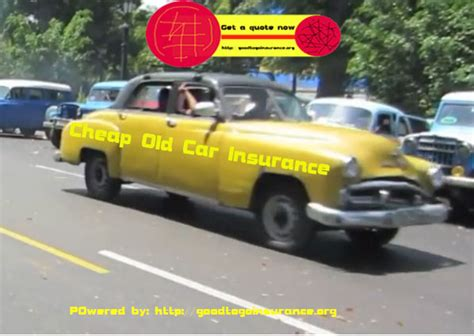 Cheap Old Car Insurance