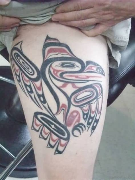 classic tribal tattoos  thigh