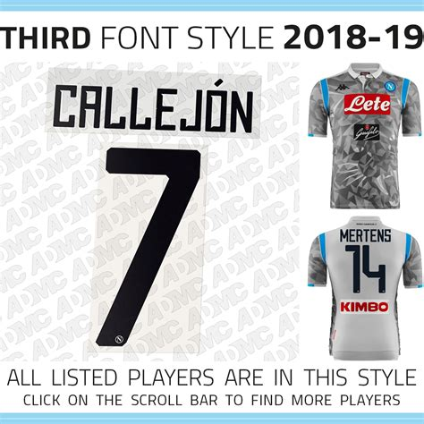 Kit style, kit fit, kit number, etc! 2018/19 SSC Napoli Third kit - ADMC LLC