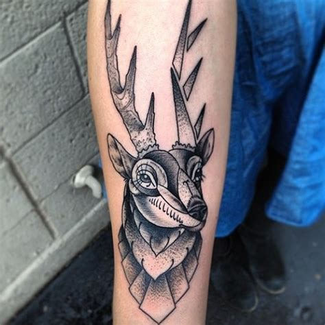 deer tattoo images designs