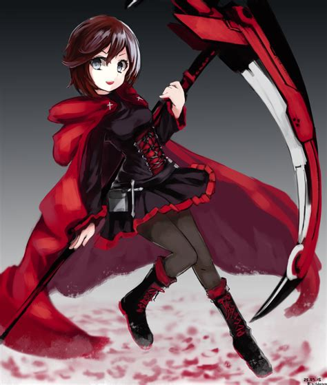 ruby rose rwby fanart rwby fan art ruby by nyuki7848 on deviantart
