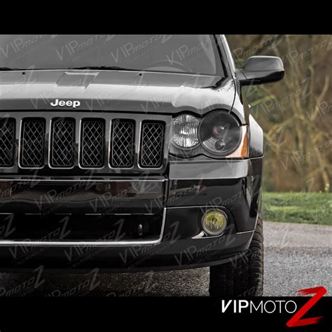 jeep black headlights 2008 2010 jeep grand cherokee wk factory hid d1s xenon