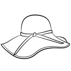 simple winter hat coloring pages simple winter hat
